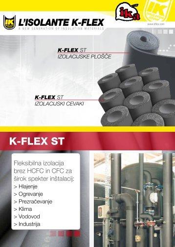 Izolacijske cevi in plošče K-Flex ST - Letak - Ika