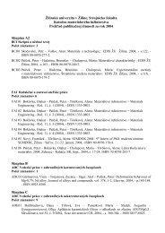 Žilinská univerzita v Žiline, Strojnícka fakulta - Katedra ...