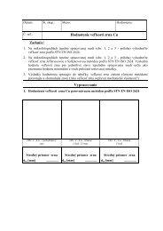 Hodnotenie veľkosti zrna Cu Zadanie: Vypracovanie