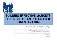 CONSUMER ADR in the EU - Centre for Socio-Legal Studies