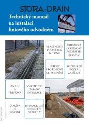 Stora-Drain Technický manuál instalace.indd - Oblibene.cz