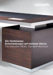 Die Chefzimmer. Entscheidungen auf höchster ... - Hartmann GmbH