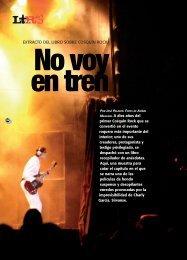 LETRAS/No voy en tren. - Revista La Central