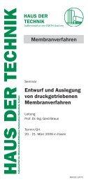 Download the Invitation & Lecture programme - Membrane guide