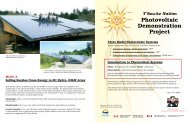 Photovoltaic Demonstration Project
