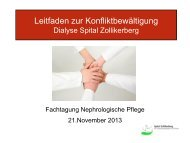 Konfliktbewältigung - IG-Nephrologie