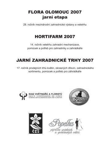 katalog 2007 - Výstaviště Flora Olomouc, as