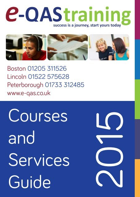 e-QAS Training Courses and Services Guide