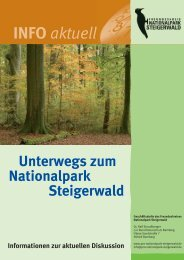 INFO aktuell - Nationalpark Steigerwald
