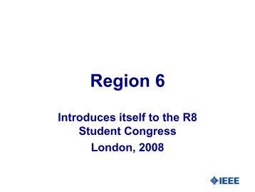 Region 6 - QMUL IEEE Student Branch