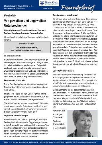 Freundesbrief - Sommer 2013.pdf - Blaues Kreuz Deutschland
