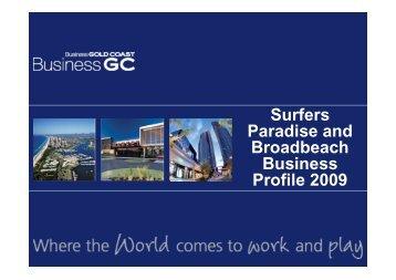 2009 Surfers Paradise Business Profile - Business Gold Coast