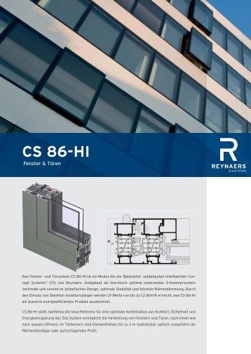 CS 86-HI - Schmitz-Fenster GmbH