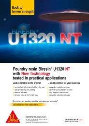 Biresin® U1320 NT - Sika Deutschland GmbH