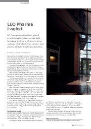 LEO Pharma i vækst - Pharmadanmark