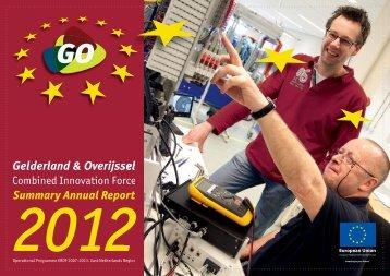 GO-Jaarverslag 2012-Samenvatting-Engels-D17.indd