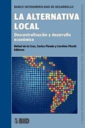 La alternativa local. Descentralización y desarrollo económico