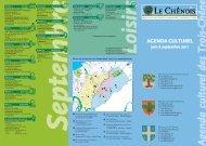 Agenda culturel Juin à septembre 2011 [318 Ko] - Chêne-Bougeries
