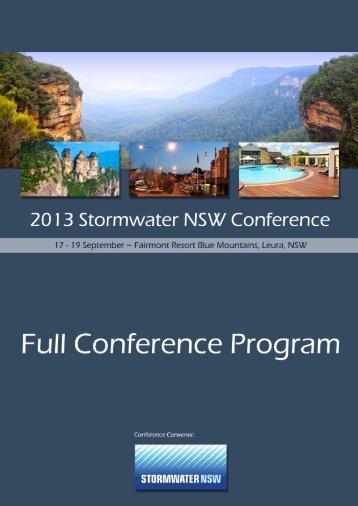 2013 Conference Program (download) - GEMS Event Management