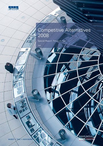 Special Report: Focus on Tax - Competitive Alternatives