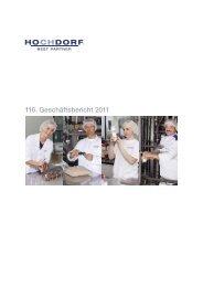 116. Geschäftsbericht 2011 - Hochdorf Nutritec AG