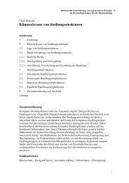 Klimarelevanz von Siedlungsstrukturen - ARL