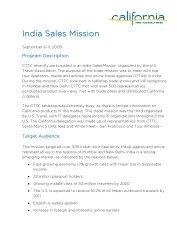 India Sales Mission