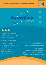 Issue 14 - AgentLink