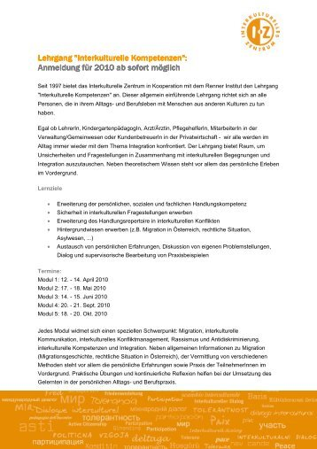 Anmeldung - Plattform für Menschenrechte Salzburg