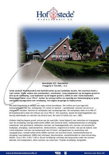 Noordzijde 103 - Noordeloos - Hofstede Makelaardij