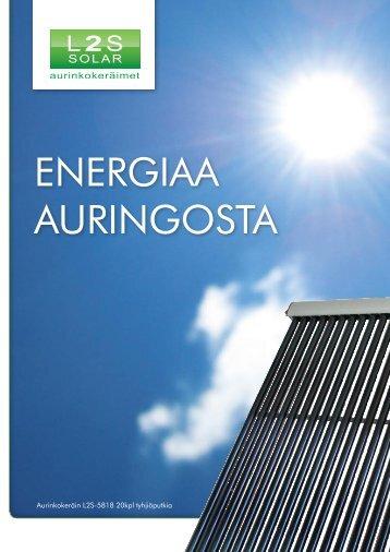 L2S -Solar aurinkokeräinesite - Linnatuli