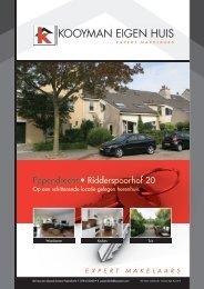 Papendrecht • Ridderspoorhof 20 - Kooyman Eigen Huis