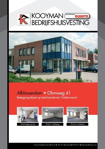 Alblasserdam • Ohmweg 41 - Kooyman Eigen Huis