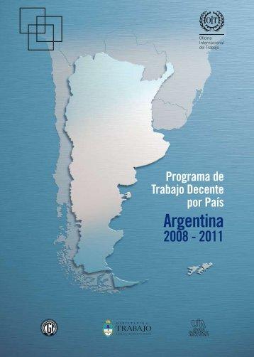Segundo Programa de Trabajo Decente por País (PTDP) 2008 ... - Oit
