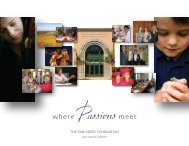 2007 Annual Report - The San Diego Foundation