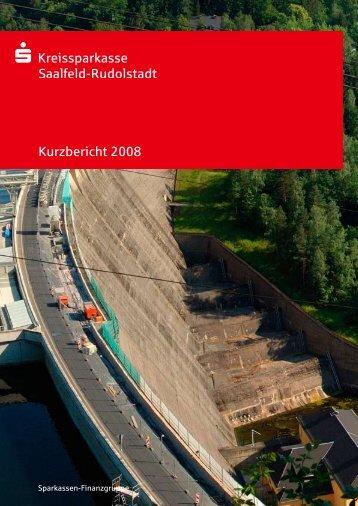 Kreissparkasse Saalfeld-Rudolstadt - Kurzbericht des ...