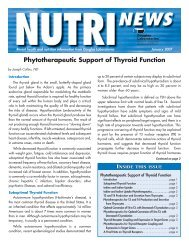Phytotherapeutic Support of Thyroid Function - Douglas Laboratories