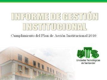 Diapositiva 1 - Unidades Tecnológicas de Santander UTS