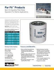 PFF5510 Marine Gasoline Filter - Bolland Machine