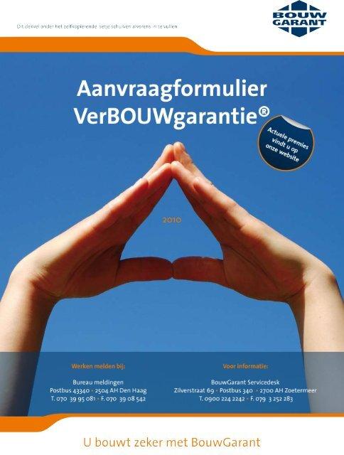 BOUWgarantie - SG-Bouw