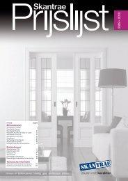 binnen- en buitendeuren beslag glas architraven plinten - Pontmeyer