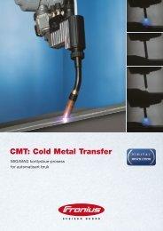 CMT: Cold Metal Transfer - TornboSvejs