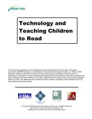 Technology and Teaching Children to Read