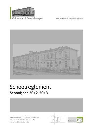 Model van schoolreglement voor het buitengewoon basisonderwijs