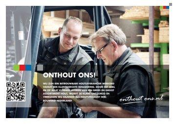 Download hier de brochure van Onthout ons!