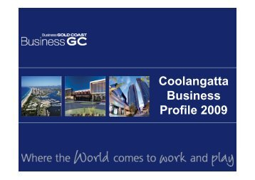 Coolangatta Business Profile 2009 - Business Gold Coast