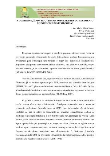 Ana Maria Alves Santos - XI Congresso Luso Afro Brasileiro de ...