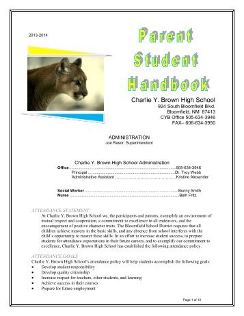CYB Parent Student Handbook SY 13-14 Pages 1-12.pdf - Charlie Y ...