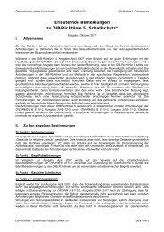 """Erläuternde Bemerkungen zur OiB-Richtlinie 5 """"Schallschutz"""""""