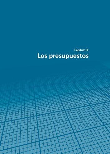 Capítulo 3: Los presupuestos - Resdal